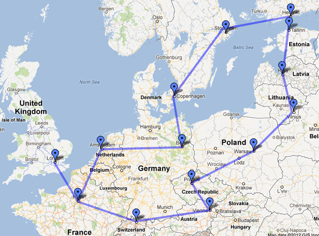 Tentative Travel Itinerary - The Aussie Nomad on my country map, my weather map, my travel map,