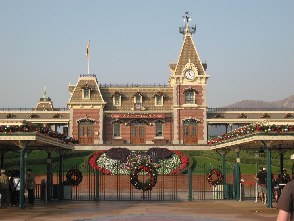 Hong Kong Disneyland Gates