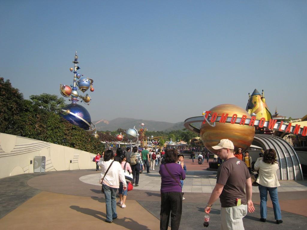 Tomorrow Land at Disneyland Hong Kong