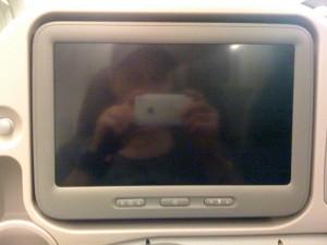 A380 TV Screen