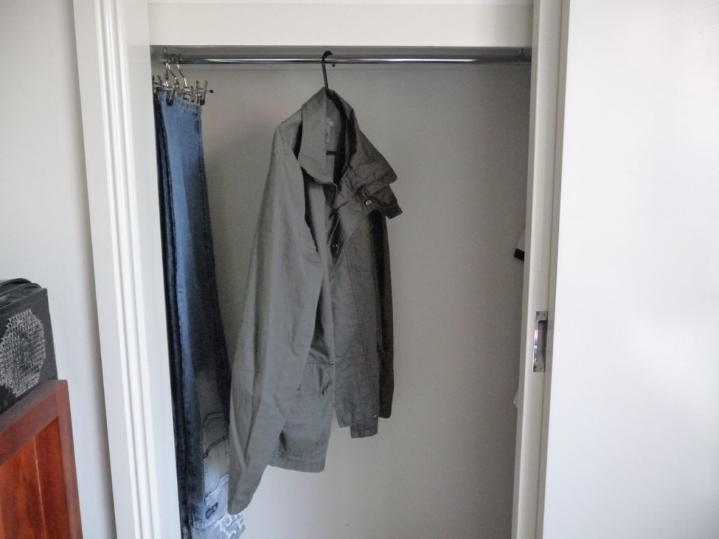 Empty Wardrobe After Cleaning Out My Room