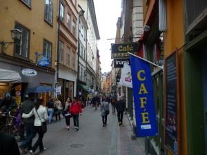 Stockholm Old Town Street