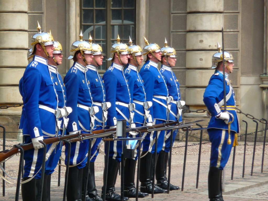 Stockholm Palace Guards