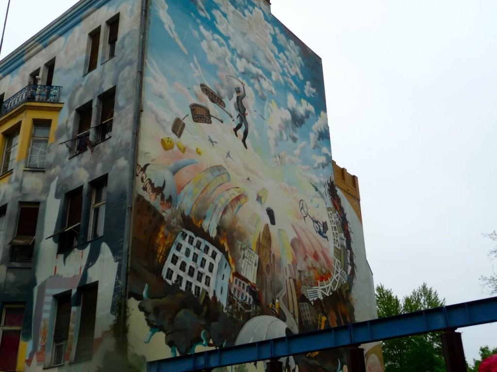 Berlin Building Graffiti