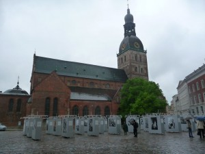 Riga Street Exibit