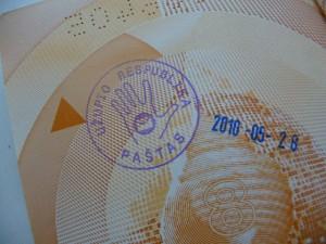 Uzupis Passport Stamp