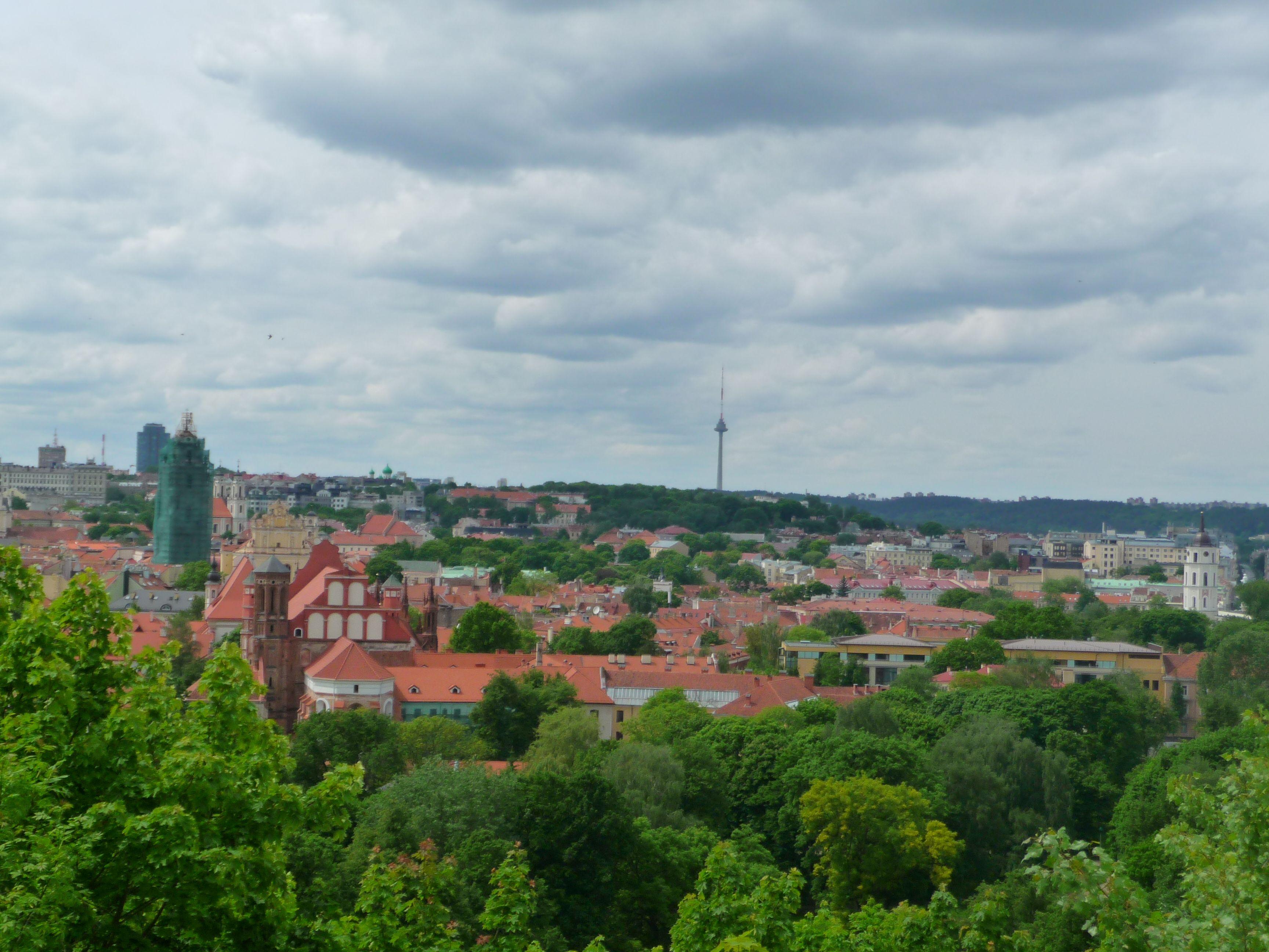 Strolling Around Vilnius