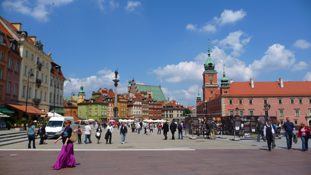 A Day in Warsaw