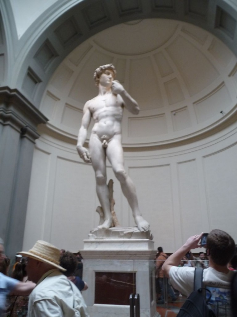 David Statue Florence Italy