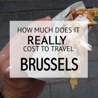 How Much Does It Cost To Travel Brussels Budget