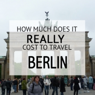 How Much Does It Cost To Travel Berlin Budget
