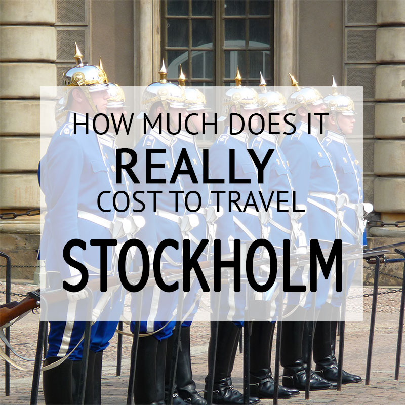 How Much Did It Cost – Stockholm Budget