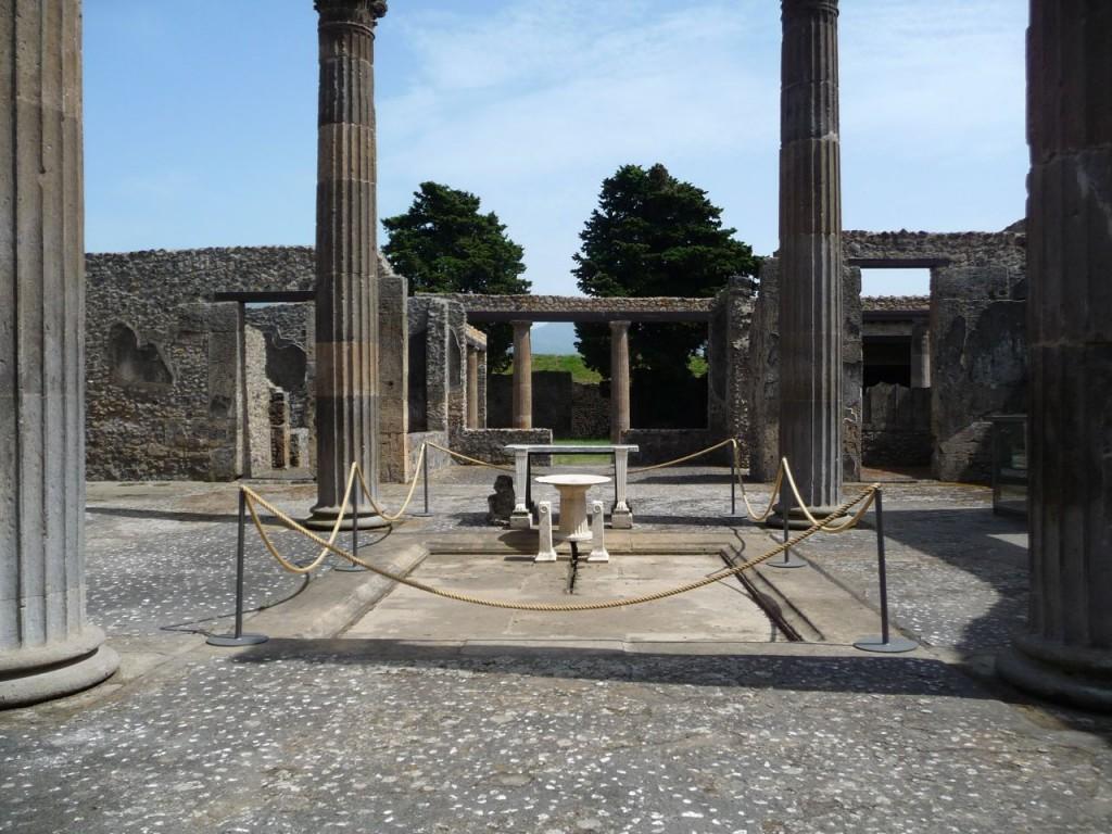 Pompeii Italy Building