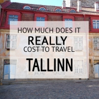How Much Does It Cost To Travel Tallinn Budget