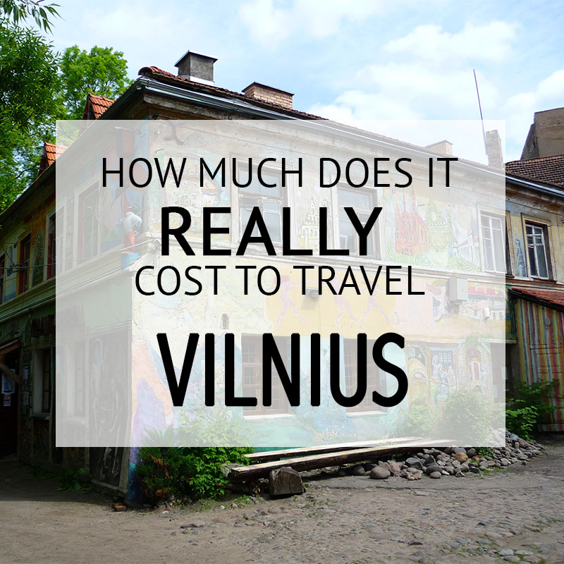 How Much Did It Cost – Vilnius Budget