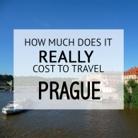 How Much Does It Cost To Travel Prague Budget