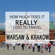 How Much Does It Cost To Travel Warsaw an Krakow Budget