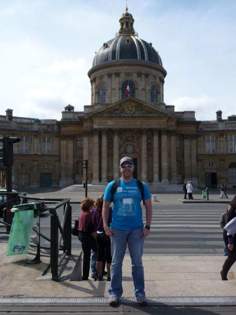 Backacking In Paris