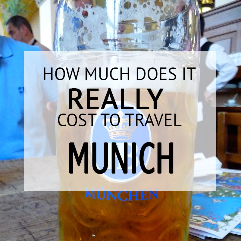How Much Did It Cost – Munich Budget