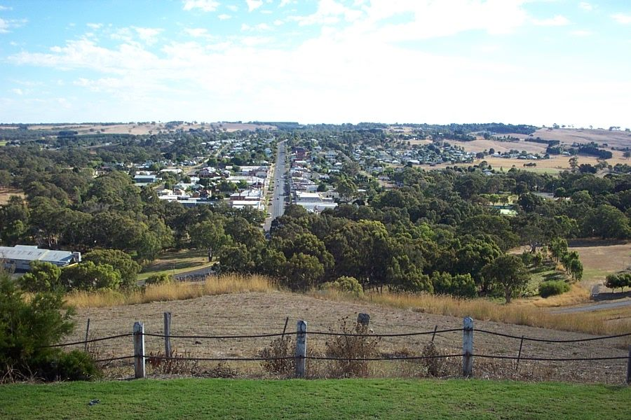 My birth home of Casterton