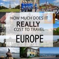 How Much Does It Cost To Travel Europe