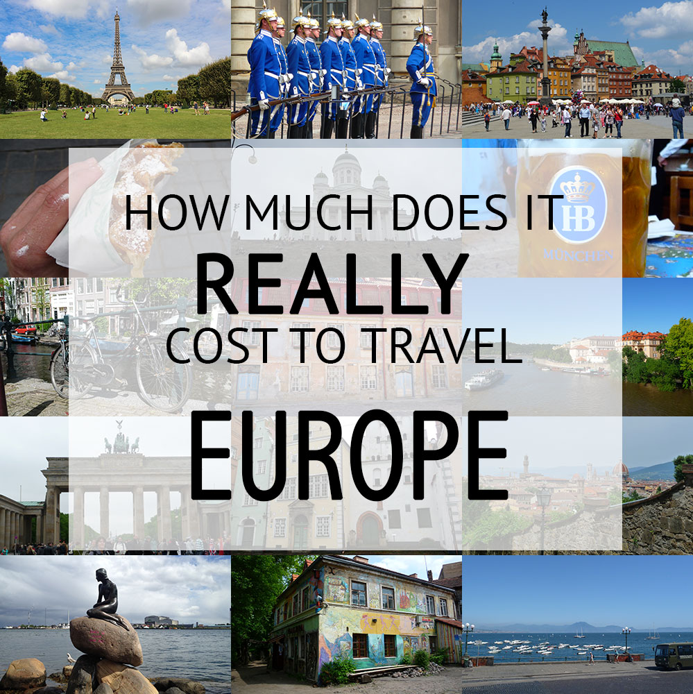 How Much Does It Cost To Backpack Europe