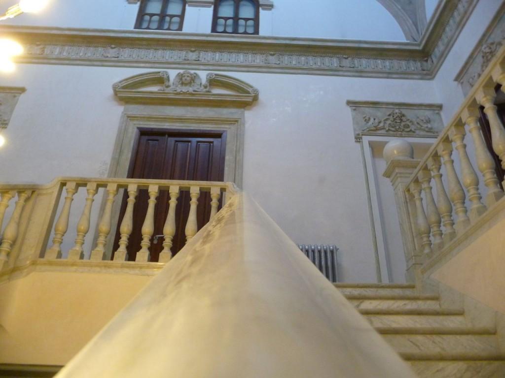 Hospes Palacio de los Patos Stairway
