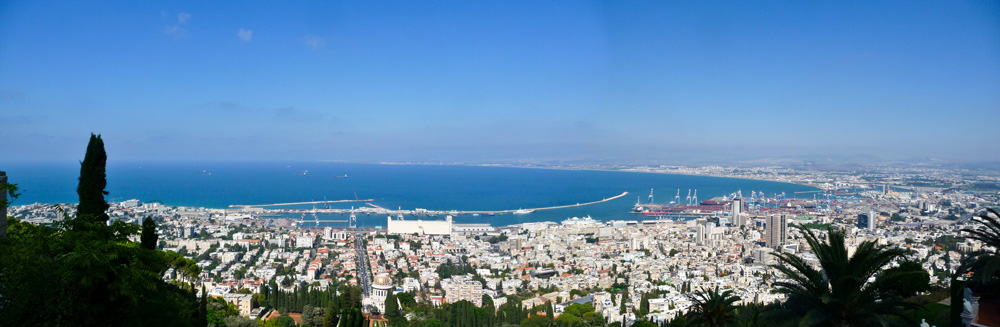 Panoramic Haifa Israel