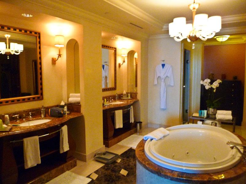 Dubai Luxury Atlantis Hotel Deluxe Bathroom