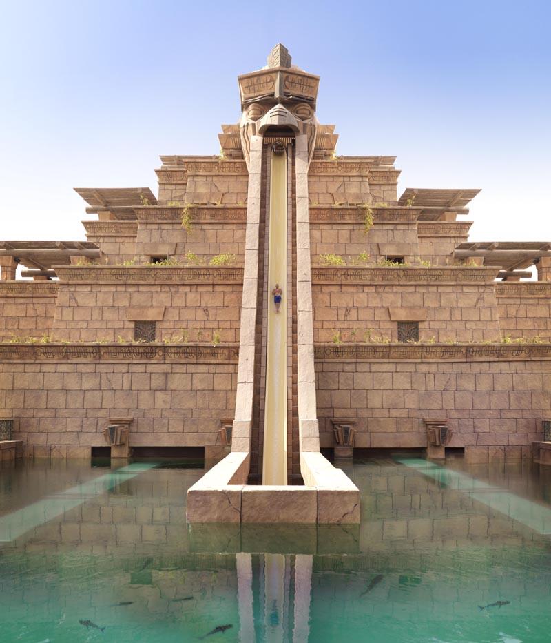 Atlantis Leap Of Faith Water Slide