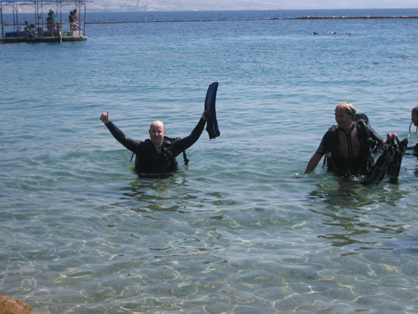 Diving With Dolphins in Eilat