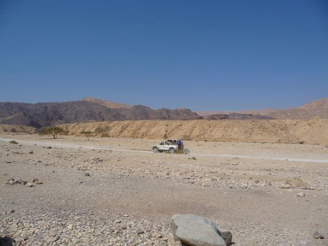 Israel Landscape around Eilat