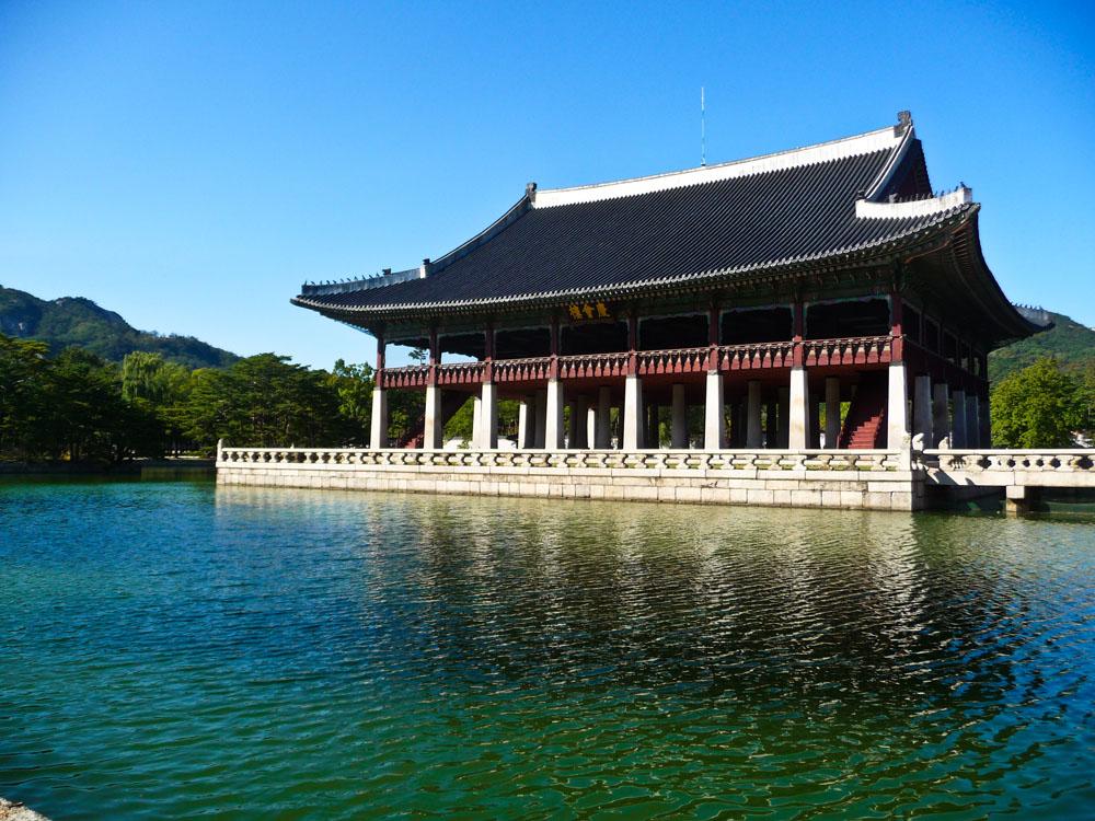 Gyeonghoeru Pavilion Seoul Royal Palace