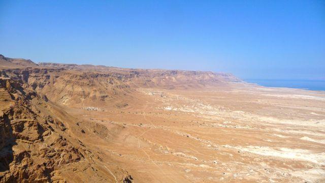 Israel Landscape around Masada