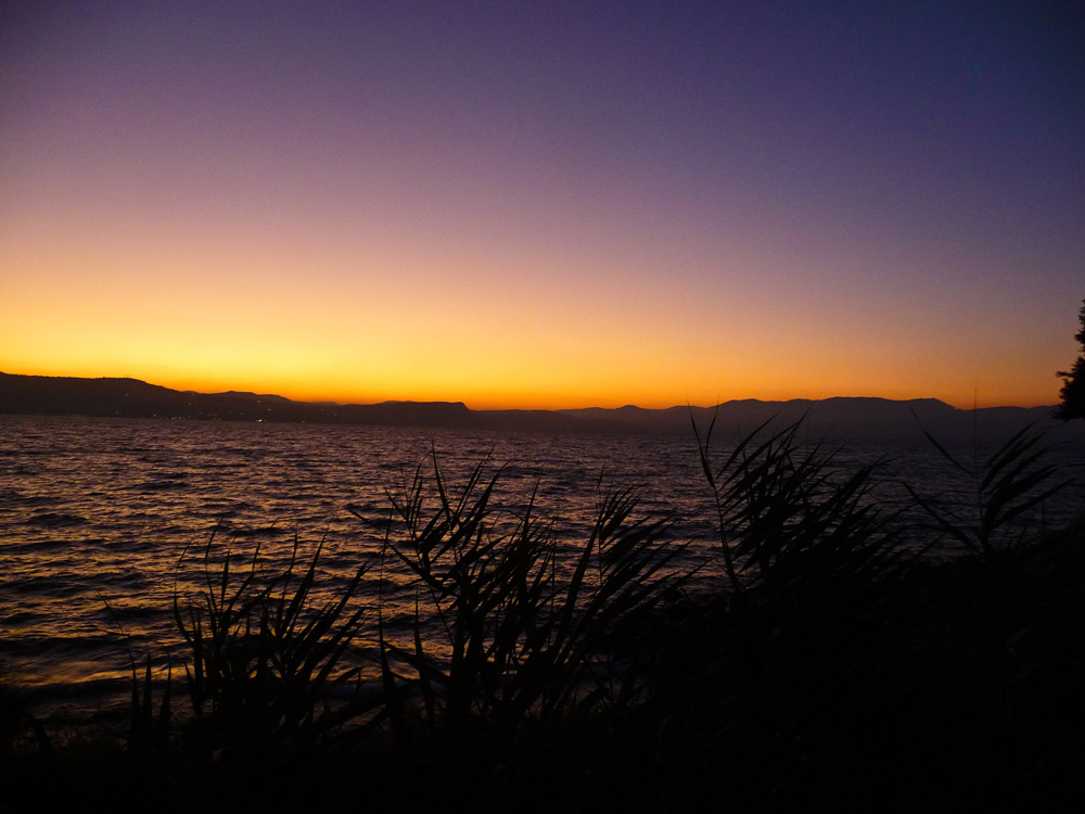Sunset On The Sea Of Galilee