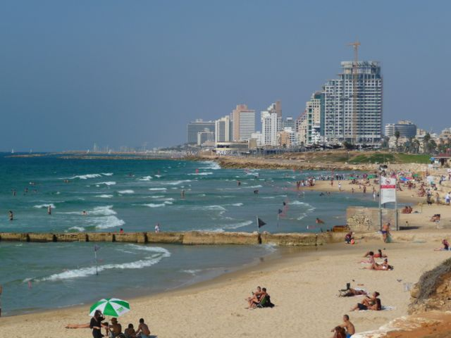 Israel Landscape around Tel Aviv