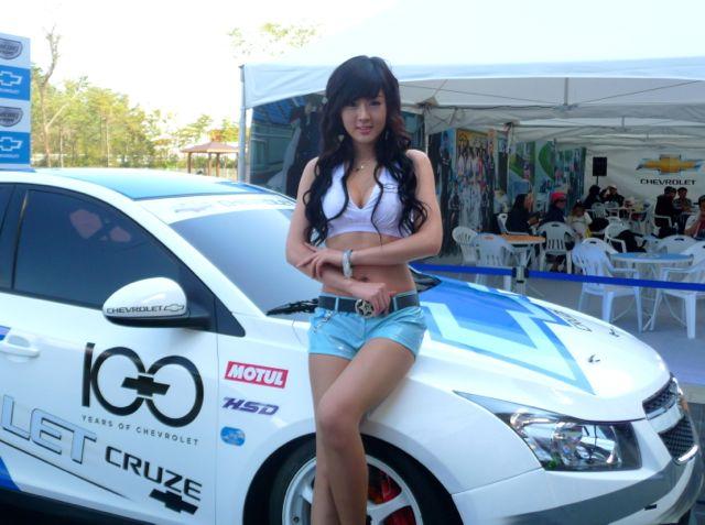 Korean Grand Prix Grid Girls