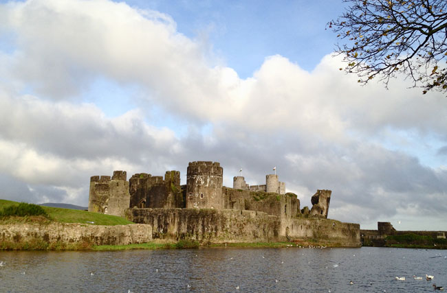 The Beauty of Wales Caerphilly Castle