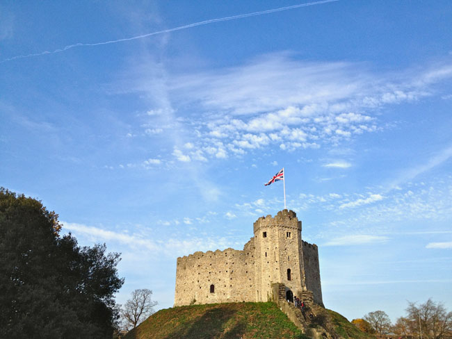 The Beauty of Wales Cardiff Castle Keep