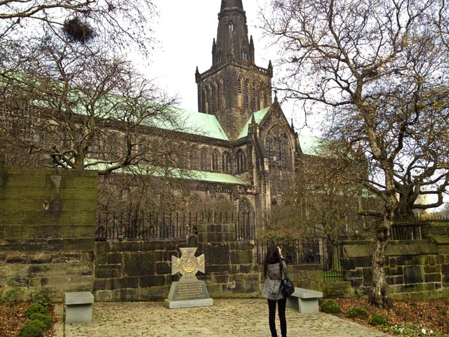 Touring Glasgow Cathedral