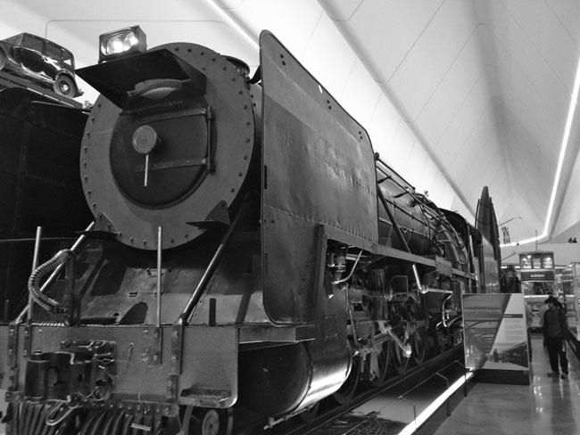 Touring Glasgow Transport Museum