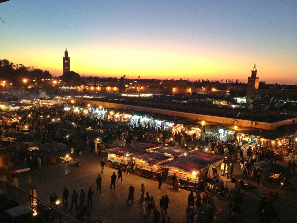 Jamaa el Fna Marrakesh