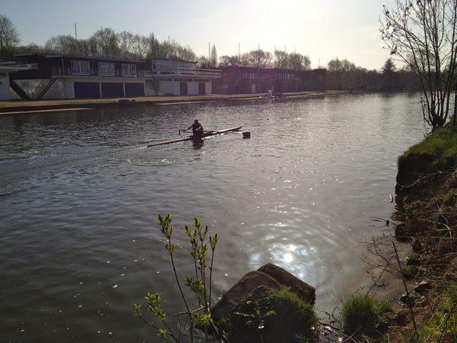 Historic Oxford Rowing River Isis