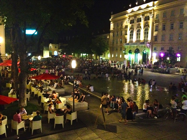 Summer In Vienna Museum Quarter