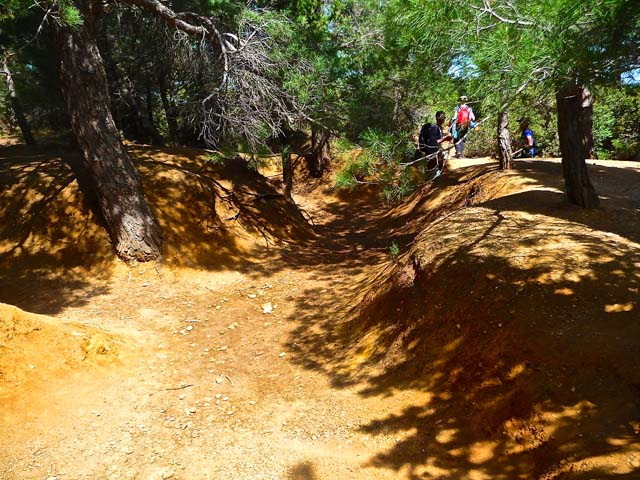 Anzac Day Trenches