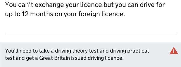 Driving In The UK - Exchanging Licence UK