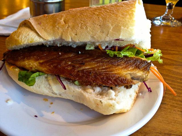 Spending Time In Istanbul Balik Ekmek Fish Sandwich