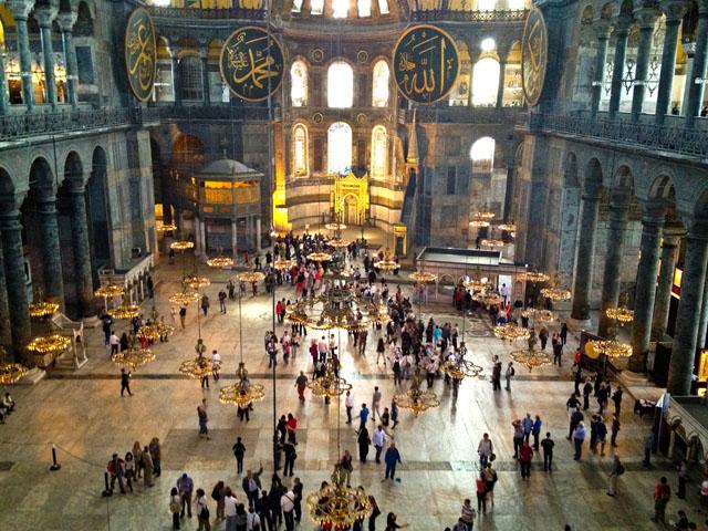 Spending Time In Istanbul Hagia Sophia