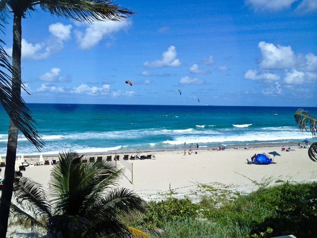 My First Visit To America – Palm Beach