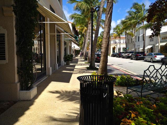 Visit To America Palm Beach Street